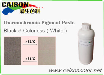 CTH-9050 Black to Colorless thermochromic pigment paste