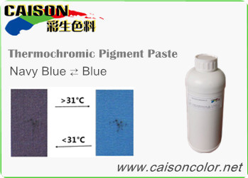 CTH-9304 Navy blue to Blue thermochromic pigment paste