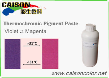 CTH-9702 Violet to Magenta thermochromic pigment paste
