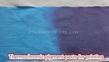 CTH series thermo-chromic pigment paste