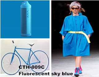 CTH-0009C Fluorescent sky blue pigment color paste