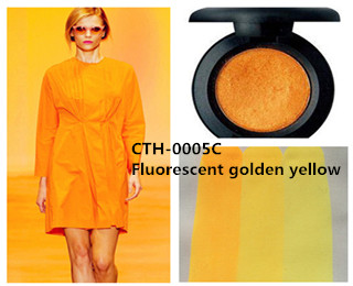 CTH-0005C Fluorescent golden yellow pigment color paste