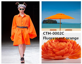CTH-0002C Fluorescent orange pigment color paste