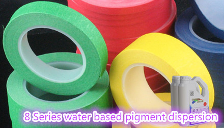 8 Series water based pigment dispersion (resin free)