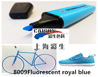 8009 Fluorescent royal blue water based pigment paste