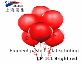 CP-111 Bright red latex tinting pigment dispersion